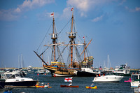 Mayflower II Returns to Plymouth, MA 2020